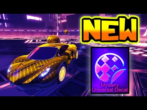 "PLAYING DROPSHOT W/ NEW ""20XX"" MYSTERY DECAL IN ROCKET LEAGUE!!"