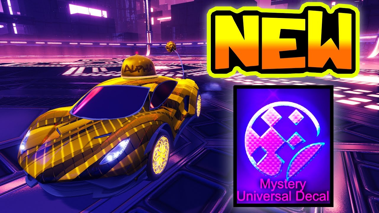 Playing Dropshot W New 20xx Mystery Decal In Rocket League