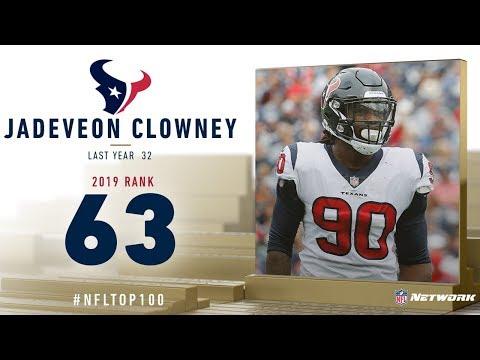 #63: Jadeveon Clowney (DE, Texans) | Top 100 Players of 2019 | NFL