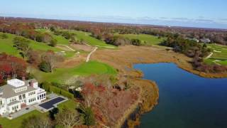 Hyannisport From The Air, Fall, 2016