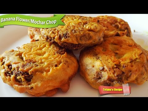 Mochar chop recipe | Banana flower (Mocha) recipe | Bengali veg cutlet recipes