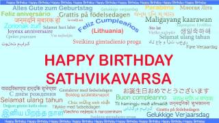 Sathvikavarsa   Languages Idiomas - Happy Birthday