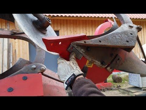 Kverneland Hydrein Plow Restoration Part 1