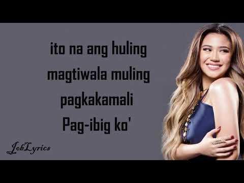 Pagbigyang Muli : [Lyrics] - Erik Santos - Morissette Amon - (Cover)