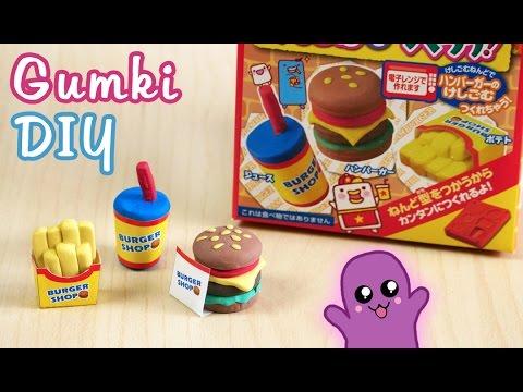 Gumki DIY fast food hamburger - Kutsuwa eraser kit #6