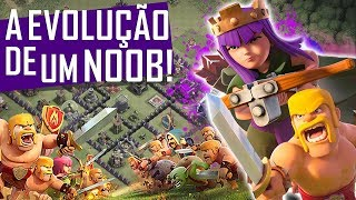 A EVOLUÇÃO DO CV9 NOOB,MAIS PRÓ DO CLASH TA INSANA! | RECUPERANDO UM CV9 NO CLASH OF CLANS #12