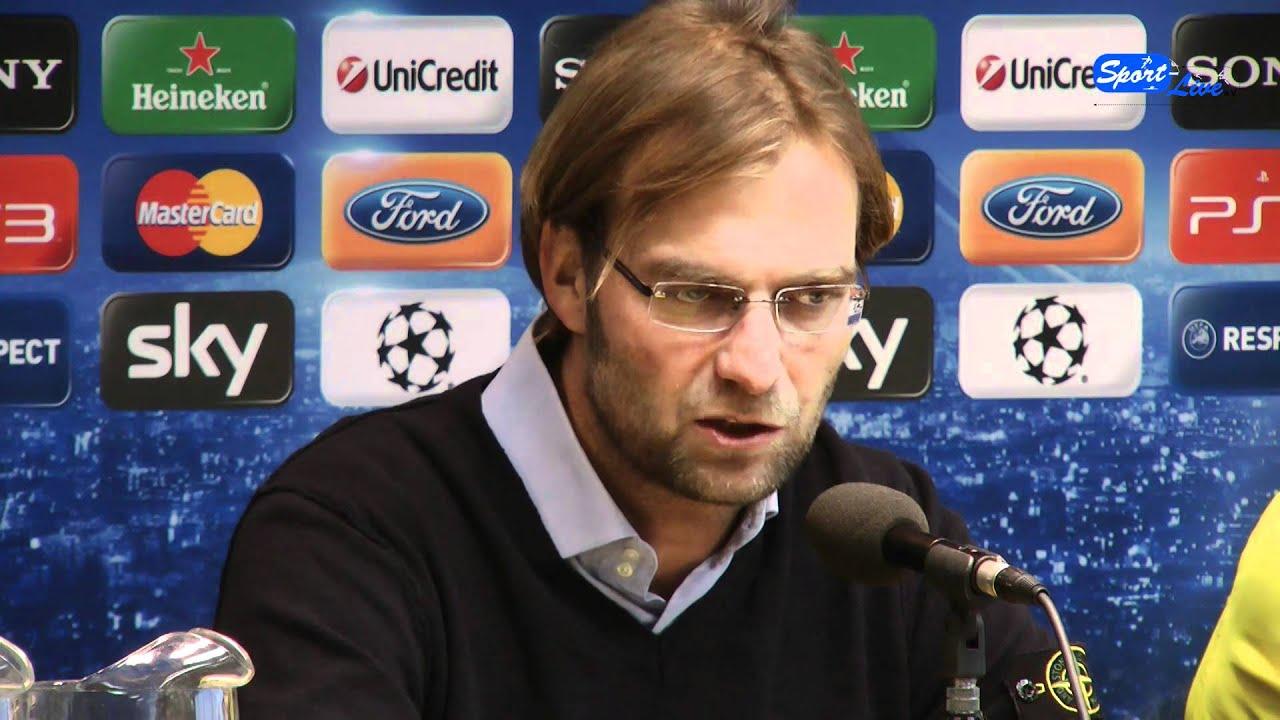 Borussia Dortmund - Olympique Marseille die Pressekonferenz vom 5.11.2011