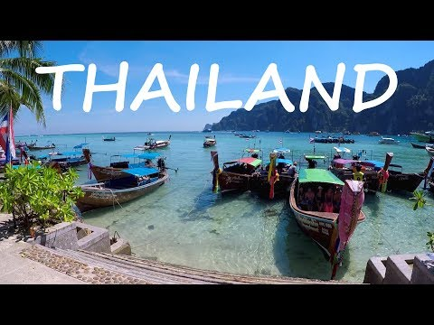 THAILAND IS PARADISE: One Day on Ko Phi Phi Island