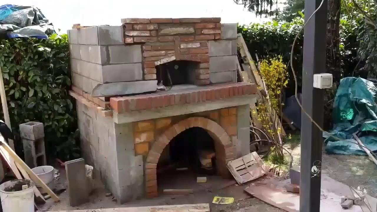 Bracieri da giardino con forni in muratura da giardino for Forno leroy merlin