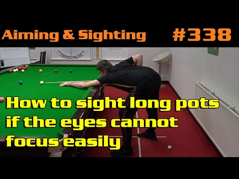 How To Sight Long Pots If The Eyes Cannot Focus Easily