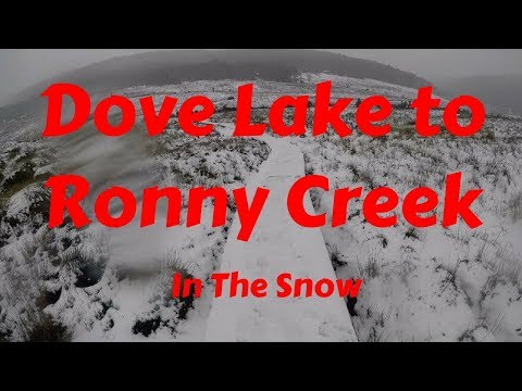 Dove Lake to Ronny Creek, Cradle Mountain - In The Snow
