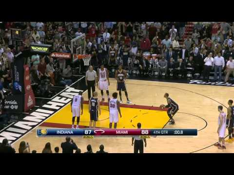 Indiana Pacers vs Miami Heat | February 22, 2016 | NBA 2015-16 Season