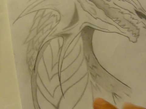 My Best Dragon Drawings (pencil And Paint)   YouTube