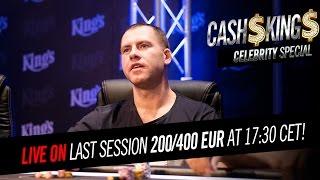 CELEBRITY CASH KINGS [EN] 4/4 NLH €200/€400