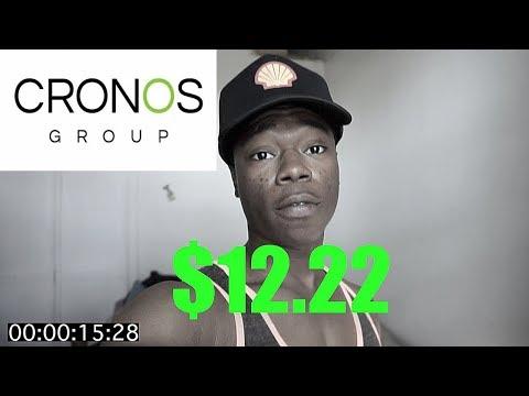 Why Cronos Group Stock CRON is still a good buy, Stock Talk 2018
