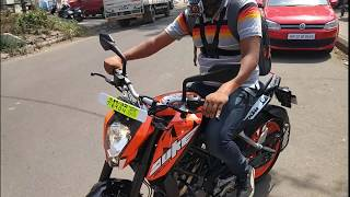 Taking Delivery Of New KTM DUKE 200 2017 | Chandigarh City