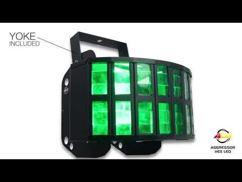 ADJ Aggressor Hex LED Lichteffekt