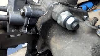 подсос воздуха  дросселя, редкий случай Toyota