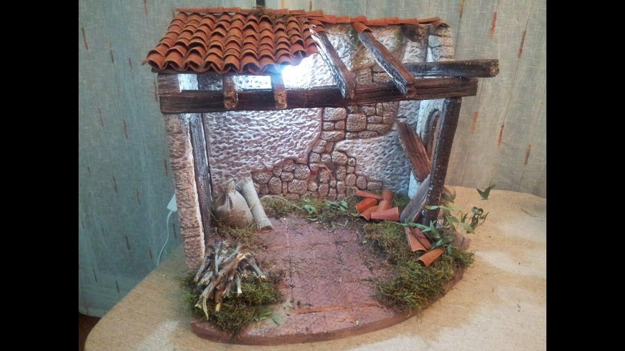 Casa portal en ruina parte segunda youtube - Casas para belenes hechas a mano ...