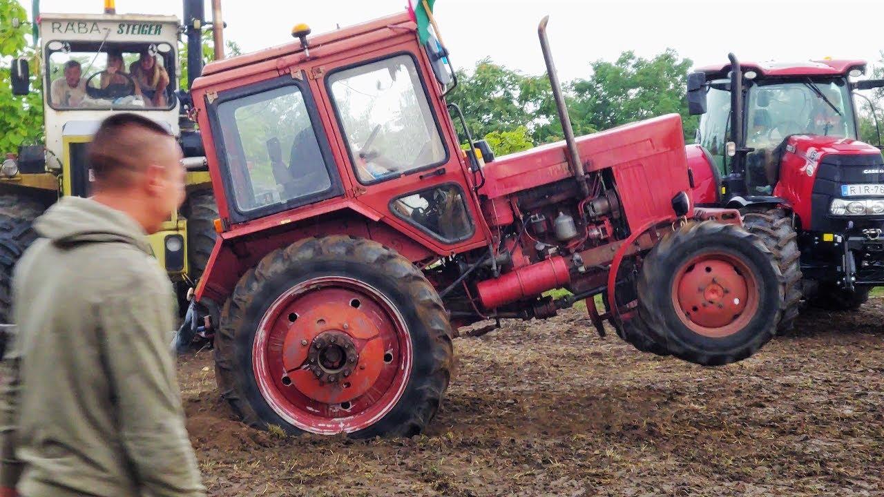 Mtz 82 vs Mtz 82 (belarus) tractors 2019 (4k video)