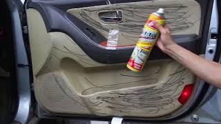 Multifunctional foam spray cleaner