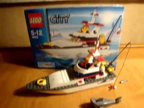 Lego Harbour рыбатцкая лодка