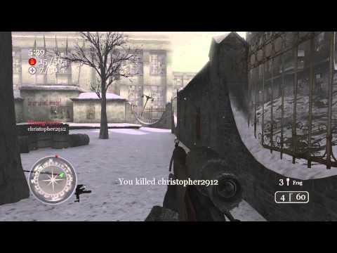 Call of Duty 2 Team Deathmatch Moscow 1/25/13