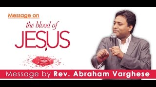 Sunday Worship Service 20.3.2016 || Sermon on 'The Blood of Jesus'