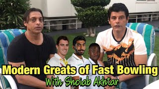 Modern Greats of Fast Bowling with Shoaib Akhtar | BolWasim |