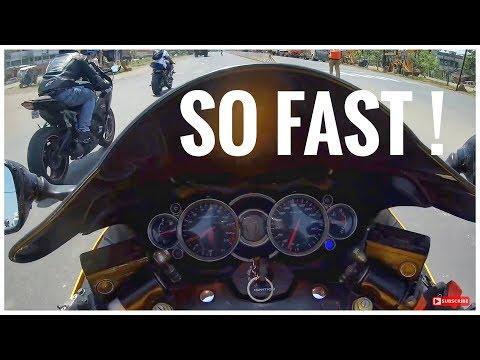 Hayabusa vs CBR 1000RR Fireblade vs BMW S1000RR 😈