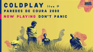 Coldplay Live at Paredes de Coura 2000