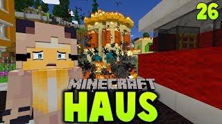 UNSER NEUES HAUS STEHT IN FLAMMEN! ✿ Minecraft HAUS #26