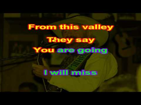 Michael Martin Murphey - Red River Valley - karaoke
