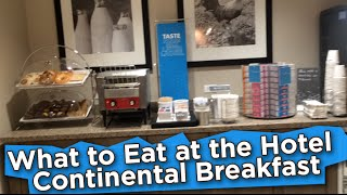 What to Eat at Hotel Continental Breakfast | VLOG #65 | What I Ate Today [Nutritarian/Vegan]