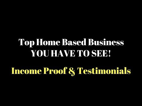 Top Home Based Business - Awesome Residual Opportunities -  Look At Our Income Proof & Results