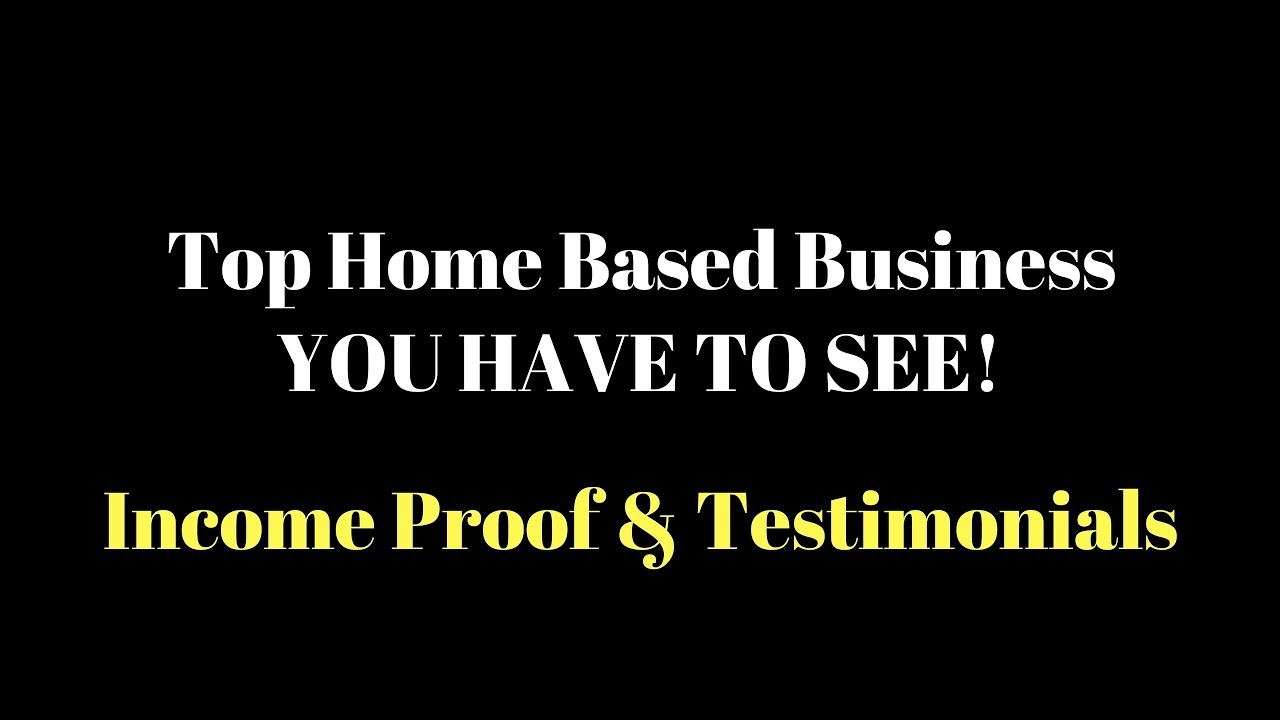 Top Home Based Business - Awesome Residual Opportunities - Look At ...