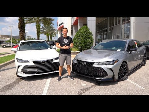 Is the 2020 Toyota Avalon TRD a BETTER performer over an Avalon Limited?