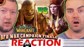 Saurfang and Sylvanas Cinematic & War Campaign Ending REACTION - 8.2.5 : WoW