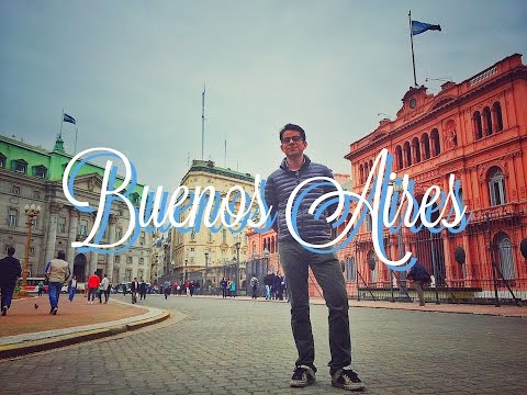 Iniciamos viaje a Argentina, tour por Buenos Aires