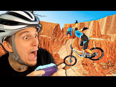 Über XXL Rampen auf der High Speed Strecke! | Fahrrad Simulator