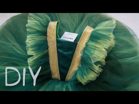 Как сшить красивое платье для девочки своими руками для нового года