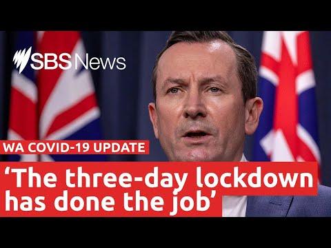 Perth lockdown: The WA Premier Mark McGowan is live I SBS News
