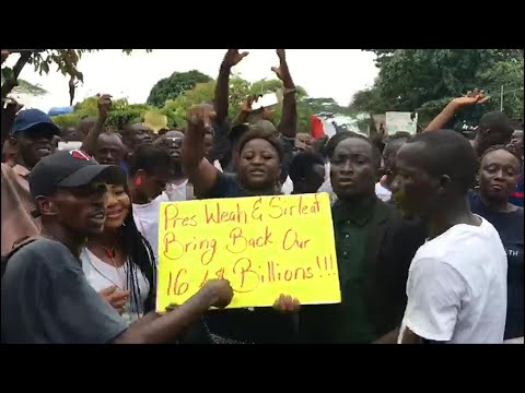 Mass protests in Monrovia, Liberia, over inflation and corruption | AFP