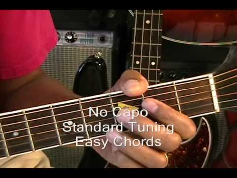 FAST CAR Tracy Chapman Guitar Lesson How To Play On Acoustic Guitar NO CAPO Cover