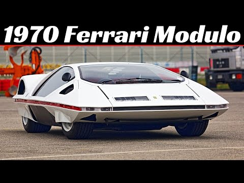 The One-Off Ferrari Pininfarina Modulo Sounds as Wild as It Looks