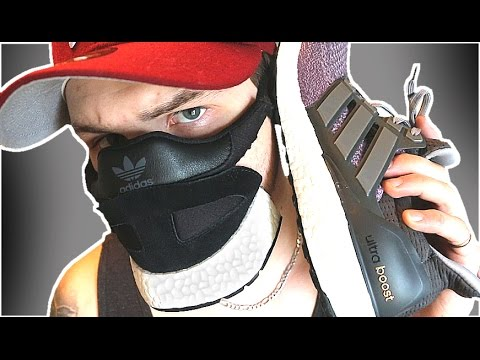 Making The Adidas Ultra Boost Sneaker Mask Youtube