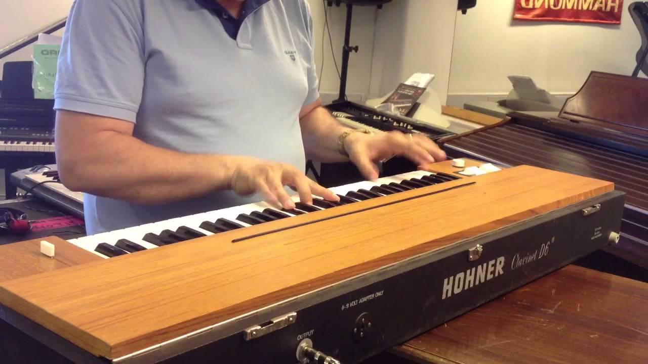 hohner clavinet d6 restored tryout youtube. Black Bedroom Furniture Sets. Home Design Ideas