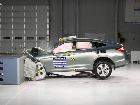 2010 Honda Accord Crosstour Moderate Overlap Iihs Crash Test