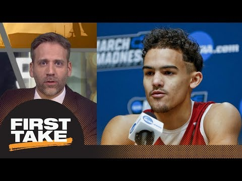 Max on Trae Young entering NBA draft: He's not ready for the pros   First Take   ESPN