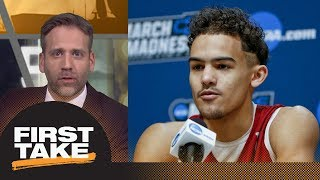 Max on Trae Young entering NBA draft: He's not ready for the pros | First Take | ESPN